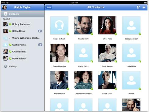 Schermata 08 2455791 alle 19.41.20 Aggiornamento di Skype per iPad