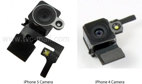 cameras 580x343 Fotografati alcuni probabili componenti delliPhone 5