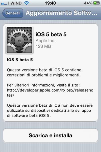 foto 400x600 Apple rilascia il nuovo iOS 5 beta 5 e iTunes 10.5 beta 5