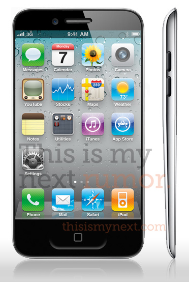 iphone5 mockup Trapelata licona delliPhone 5, che sia vera?