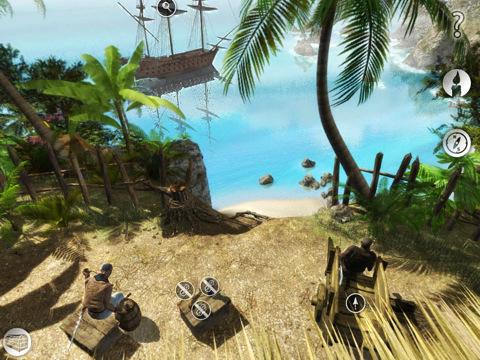 isola1 Recensione del gioco per iPad Destinazione: LIsola del Tesoro