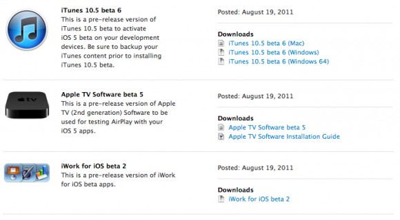 iwork beta 2 ispazio 580x320 Rilasciati da Apple iWork per iOS Beta 2, la Beta 5 per Apple TV e xCode 4.2 DP 6