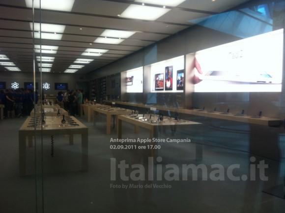 applestore italiamac 4 580x433 Reportage in anteprima: Scopriamo lApple Store Campania il giorno prima dellinaugurazione