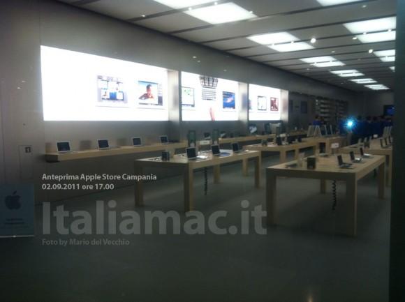 applestore italiamac 6 580x433 Reportage in anteprima: Scopriamo lApple Store Campania il giorno prima dellinaugurazione