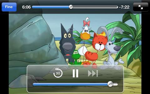 Cuccioli.TV screenshot episodio I cartoni animati della serie Cuccioli su iPhone, iPod touch e iPad con Cuccioli.TV