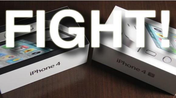 fight 580x326 Un video confronto tra iPhone 4 e iPhone 4S