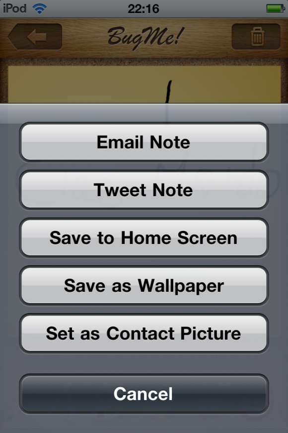 image copia 580x870 BugMe! Reminders, prendi note con il tuo dispositivo iOS