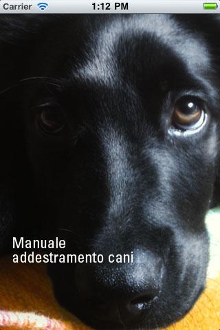 manualecani Manuale Addestramento Cani per iPhone