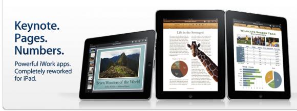 suite iwork per ipad Apple rilascia laggiornamento per la suite di iWork per i dispositivi mobile