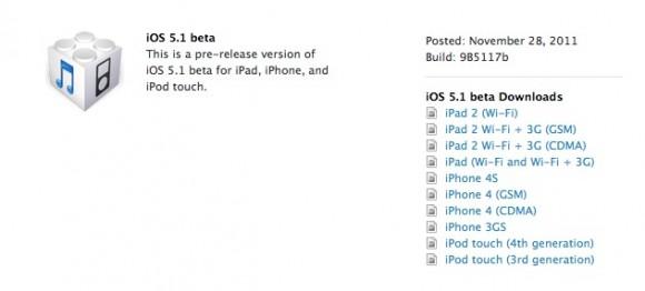 Schermata 11 2455895 alle 09.58.13 580x262 Apple ha rilasciato agli sviluppatori iOS 5.1 beta e Xcode 4.3 beta