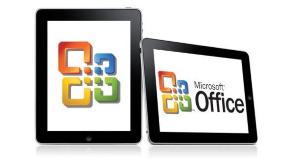 office ipad 580x337 Rumors: Microsoft sta lavorando per creare una versione di Office per iPad