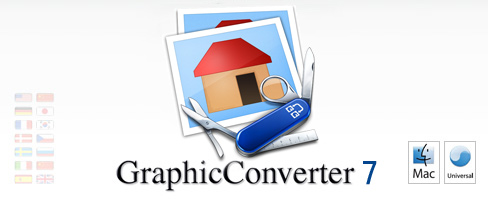 start9 gc7c GraphicConverter 7.4.1 in italiano da Italiaware