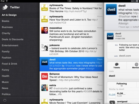 twitter ipad 20100902 072713 Il programmatore che ha realizzato Tweetie e Twitter per iOS si dimette dal Social Network