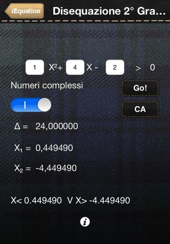 IMG 3368 580x833 E arrivata la App iEquation, sviluppata da ragazzi che hanno frequentato il corso iOS di Italiamac