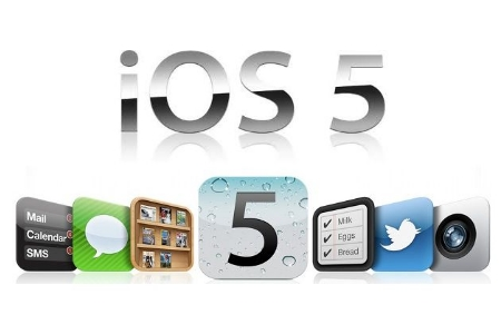 apple ios5 450x3001 Apple rilascia una nuova build di iOS 5.0.1 per iPhone 4S