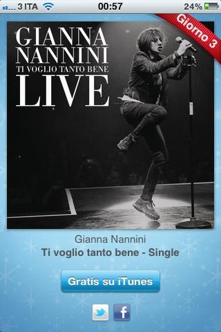 gianna 12 giorni di regali   Gianna Nannini Live: ti voglio tanto bene
