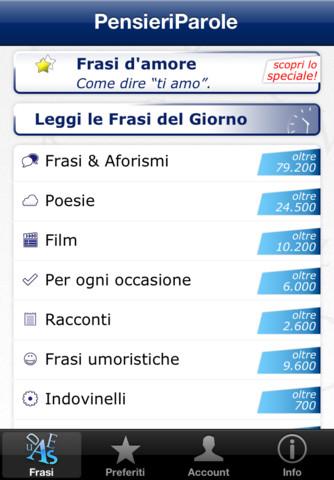 pp1 SullApp Store cè la nuova app di PensieriParole