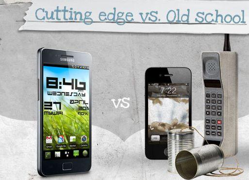 samsung facebook Avanguardia contro vecchia scuola: lironico slogan pubblicitario di Samsung contro Apple