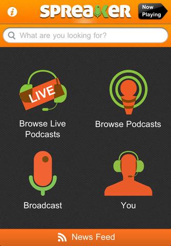 spr1 Spreaker Radio 2.0, trasmetti in diretta dal tuo iPhone