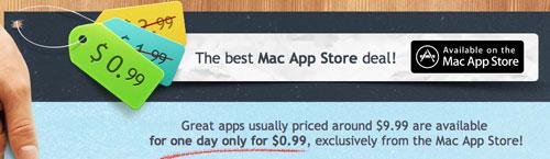 099 Con ZeroNinetyNine, 12 App per Mac scontate a $0,99 per un giorno sul Mac app Store