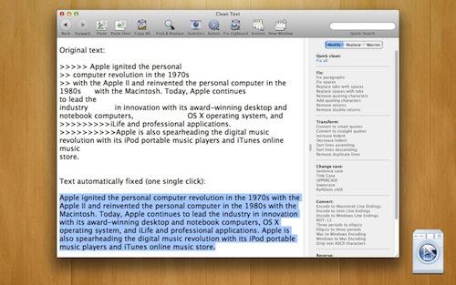2296 a Clean Text   Site License, a prezzo scontato su MacZOT!