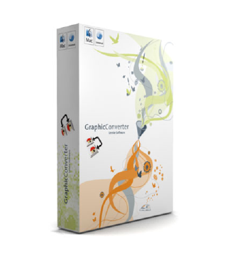 GC6 BOX GraphicConverter 7.6.1 in italiano da Italiaware