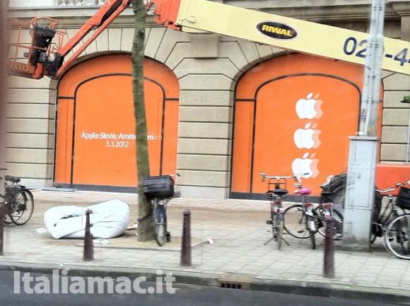 IMG 0954 580x433 Il nuovo Apple Store olandese di Amsterdam apre il 3 marzo, nuove foto di Italiamac