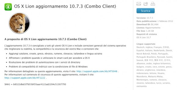 Schermata 02 2455964 alle 12.48.22 580x296 Apple rimuove il download di Mac OS X 10.7.3 a causa di alcuni problemi