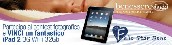 benessereipad 580x154 Vinci un iPad 2 con BenessereViaggi.it