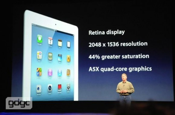 425589 364654076900099 116925191672990 1168644 1159585081 n 580x383 Evento Apple: Arriva il nuovo iPad 3 con Retina Display
