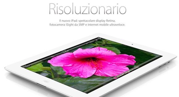 Nuovo iPad home Da domani disponibile il nuovo iPad ma è praticamente Sold Out!