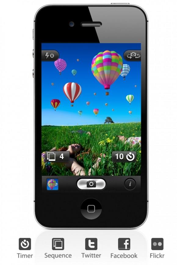 autoscatto30 580x870 Autoscatto per iPhone primo nella classifica Foto e Video