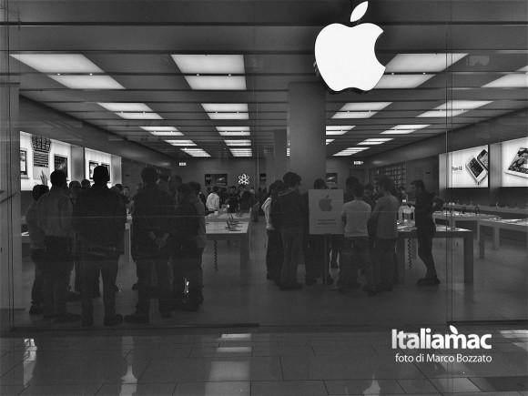 apple store roma 6 580x435 Gita allApple Store Porta di Roma, le foto di un lettore
