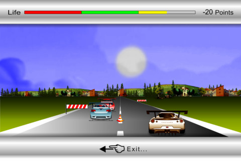 mza 1120156466019980378.320x480 75 Car Racing 2012, corse retrò su iPhone
