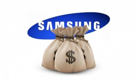 samsung money 580x340 E stato un rumor su Apple a far perdere 10 miliardi di dollari a Samsung?