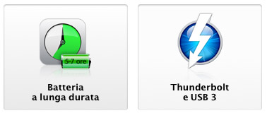 batteria i o Nuovi MacBook Air: caratteristiche e prezzi