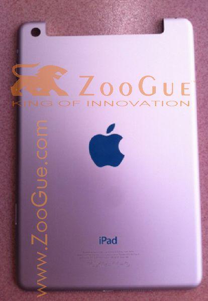%name Nuove immagini relative ad un iPad nano?