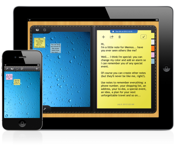 iMemos - note per iPhone e iPad