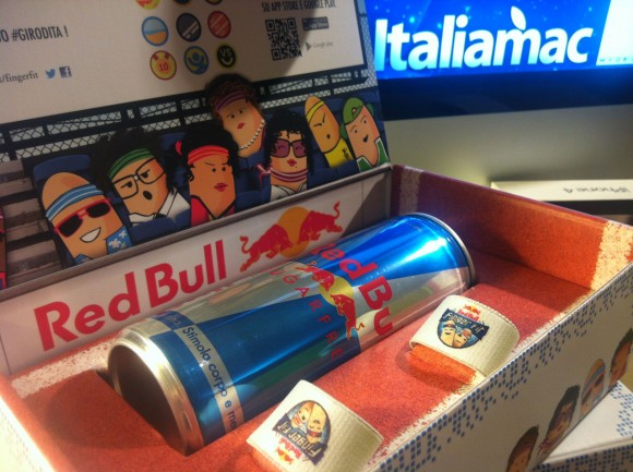 redbull003 580x433 Red Bull torna nellarena delle app con il nuovo gioco per allenare le dita