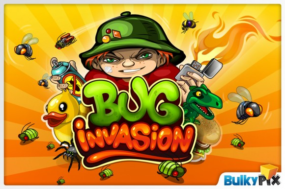 buginvasion1 580x386 Bug Invasion, tower defense game per iOS