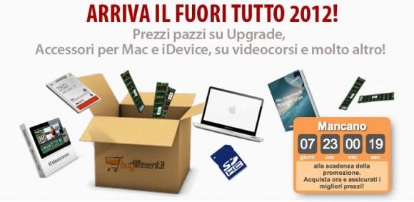 fuoritutto 580x283 Fuori Tutto da BuyDifferent, fra sconti, promozioni e accessori per Mac, iPhone e iPad