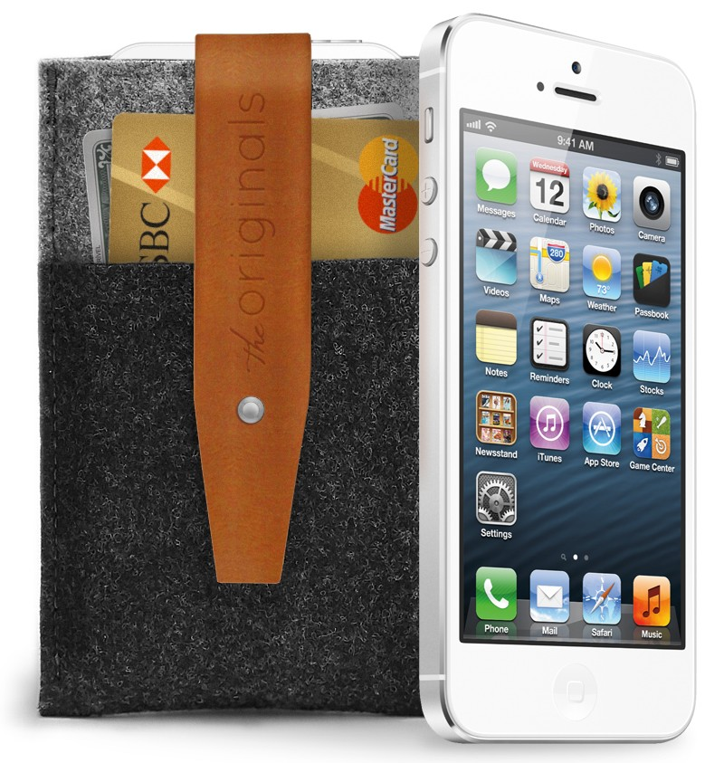 iphone 5 wallet sleeve and iphone originals collection large Nuovo iPhone, nuova custodia Mujjo creata sui rumor!