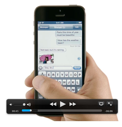iphone5video Già sul sito Apple il video del nuovo iPhone 5