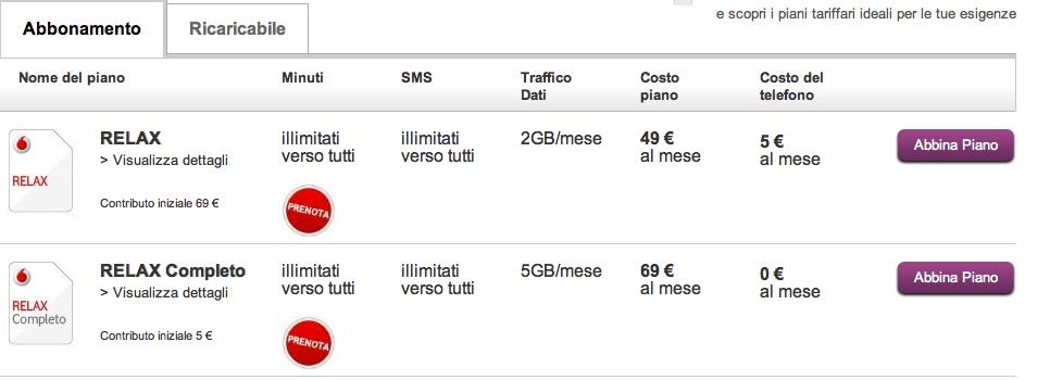 prezzi iphone 5 abbonamento vodafone Notte bianca iPhone 5 anche per Vodafone e Tim: Ecco tutti i negozi aperti fino alle 2