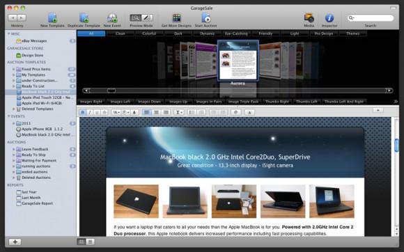 GarageSale Preview 580x362 Creare inserzioni eBay non è ma stato così facile