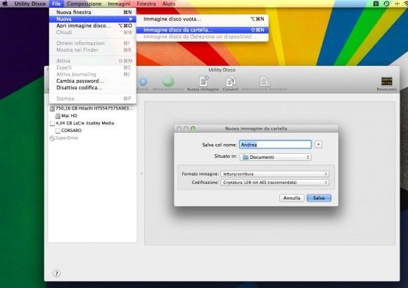 cartella cryptata 580x410 Proteggere i propri dati con Password. Applichiamola a Cartelle, Drive Esterni o Immagini Disco