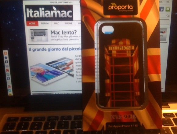 foto 580x439 Proporta, la cover per iPhone 4s interamente british