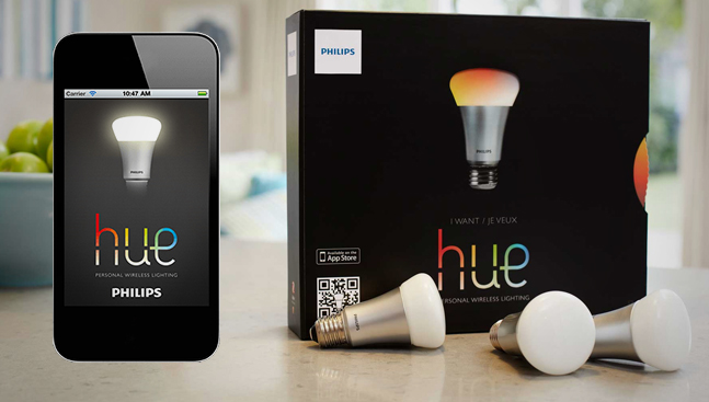 philips hue Philips lancia Hue, la lampadina intelligente acquistabile negli Apple Store