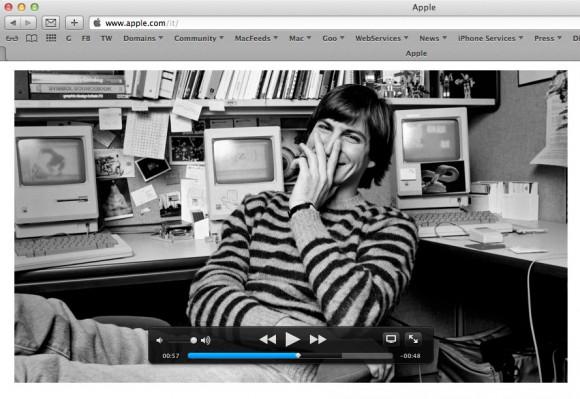 stevejobsvideoappleanniversario 580x399 Il video di Apple per ricordare lanniversario della scomparsa di Steve