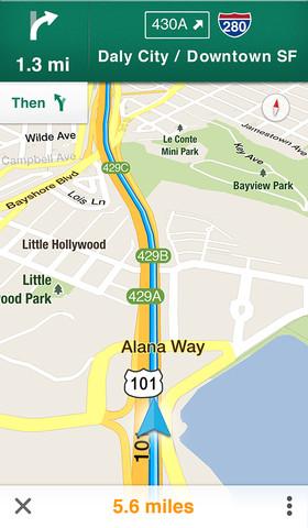 b320x480 751 Le mappe di Google tornano su iOS, con una app dedicata